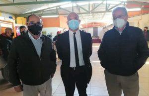 (de izq. a derecha) Los Consejeros Regionales Fernando Ghiglino, Javier Castillo, y Sergio Bordoli.
